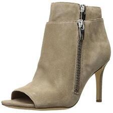 Via Spiga 2641 Womens Vanetta Beige Suede Ankle Boots Shoes 6 Medium (B,M) BHFO