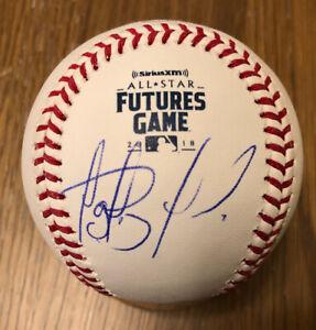 Fernando Tatis Jr. Signed Auto Futures Game Baseball JSA USA COA Mint W/ Case