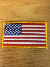 Lot of ( 2 ) American Flag Patches