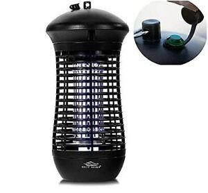 Bug Zapper Outdoor Dusk to Dawn Built in Light Sensor 4000v Mosquito Killer