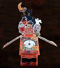 Halloween Card Hand made Halloween pop up box card card by aurora Arts Hal02