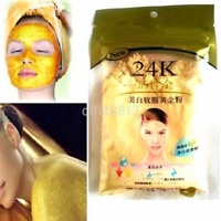 Hot Sale 24K Gold Active Face Mask Powder Brightening Luxury Spa Anti-Aging AU