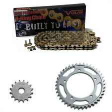GOLD X-Ring Chain and Sprocket Set Kit HONDA CB450 DXK 89-92