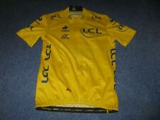 TOUR DE FRANCE 2015 LCS YELLOW LEADERS CYCLING JERSEY [L]