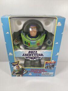 Buzz lightyear ultimate talking action figure original 1995