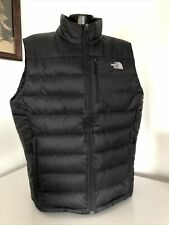 Men's The North Face 550 Quilted Black Down Vest XL