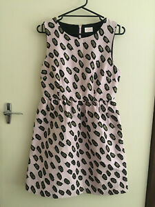 Gorman Pink Leopard Dress Size 10