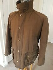 Mens Barbour Ashby Wax Jacket rustic brown XL great condition