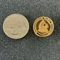 Moundsville High School West Virginia Gold Tone Pin Pinback #39458
