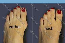 Fußbandage Hallux Valgus 2x Schiene Reibungsschutz Ballenschutz Valgus Pro