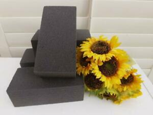 4 DRY FLORIST FOAM BRICKS SUITABLE FOR SILK & DRY FLOWER DIY PROJECTS