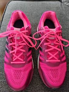 Adidas Women's Supernova Boost Sequence Running Pink/Purple Shoes Size 10.5