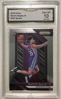 2018 Prizm Marvin Bagley III Rookie Card 10 GEM MINT GMA Graded Basketball Card