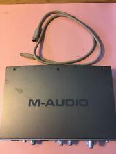 Used M-Audio Firewire 410 Recording Midi Interface w firewire no power supply