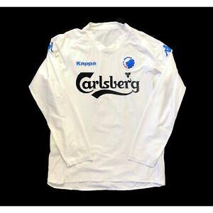 🔥Vintage 2006/07 Copenhagen Home Long Sleeve Football Shirt Kappa - Size XXL🔥
