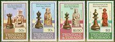 More details for trinidad & tobago 1984 chess set  of 4 sg652-655 v.f mnh