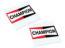 CHAMPION Classic Retro Car Motorcycle Decals Stickers