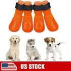 Dog Socks Anti Slip Paw Protectors 2 Pairs-Traction Control Non Skid Waterproof