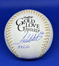Frank White Signed Rawlings Gold Glove Ball w/ 8x GG Inscription Royals Auto