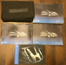 2011 Honda Insight Owner Owners Manual Complete Set