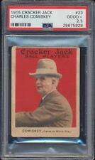 PSA 2.5  1915  Cracker Jack    Charles Comiskey   # 23  Just Graded
