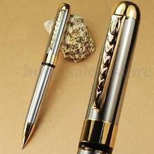 JINHAO 250 Gold and Silver Twist Ballpoint Pen Stationery Student Pen