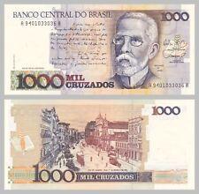 Brasil/Brazil 1000 cruzados 1987-1988 p213b unz.