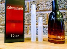 Fahrenheit Dior 'EDT' 10ml Fragrance Spray - For Men - 100% GENUINE -