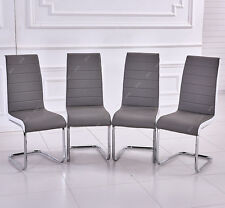 Faux Leather Dining Chairs eBay