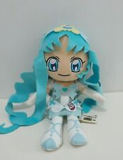 "Heartcatch Pretty Cure! Precure MARINE Banpresto 2011 DX Plush 11"" TAG Toy Doll"