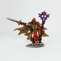 Painted Miniature Necromancer, Pathfinder Rpg, DnD, Reaper Bones