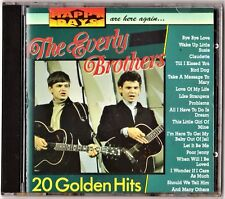 THE EVERLY BROTHERS: 20 GOLDEN HITS. Happy Days (Holanda)