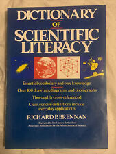 Dictionary Of Scientific Literacy by Richard P. Brennan (1992, Softcover)
