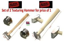 Texturing Hammer Wooden Handle BLACK FRIDAY DEAL Two for ONE