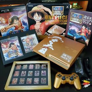 PlayStation 3 PS3 One Piece Pirate Warriors Ver. Gold With Treasure Box
