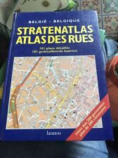 Atlas Des Rues De Belgique / Stratenatlas 1996