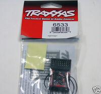 6533 Traxxas R/C Car Parts Receiver 2.4GHz TQi 5Ch Micro Telem/TSM Brand New UK
