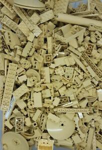 100 x Teile Lego Tan Beige Sand Basic Sonderteile Stück Burg Castle Ritter