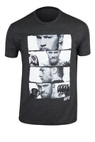 UFC Mens Conor McGregor Stacked T-Shirt - Black