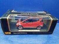 Maisto Special Edition 1:18 Diecast 1997 red Mercedes Benz A class NIB