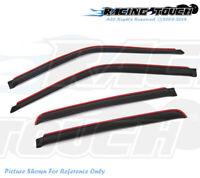 Window Visor Wind Guard 4pcs In Channel For 2004-2008 04-08 Chrysler Pacifica