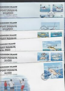 Ascension 2004 2005 2006 Sport Fishing Fish Billfish Tuna Jacks FDC choice