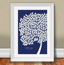 Personalized Guest Book Alternative Set, Signing tree kit 20x30 inches