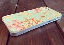 New Floral Shabby Chic Vintage Style Plastic Phone Case For iPhone 5 5S