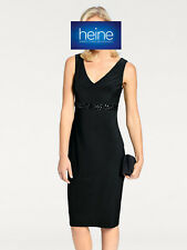 875ab271af5a96 ASHLEY BROOKE by Heine Cocktailkleid mit Applikationen, schwarz. Gr. 42.  NEU!