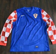 Croatia 2010/12 Long Sleeve Player Issue Away XXL Nike football jersey soccer