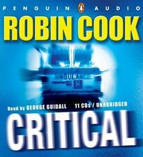 Critical by Robin Cook (2007, CD, Unabridged )