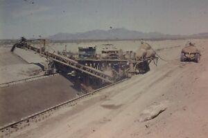 WELLTON MOHAWK CANAL CONSTRUCTION 35MM SLIDE (CIRCA 1950`S) LOT L106