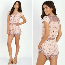 Spell & The Gypsy Collective Coyote Romper - Peach