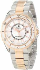 Bulova Women's Precisionist  WINTER PARK Two Bone Bracelet Watch 98M113
